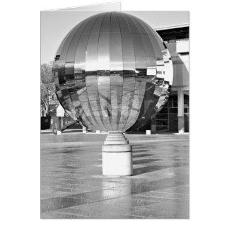 Mirror Ball, Millennium Square, Bristol. Card