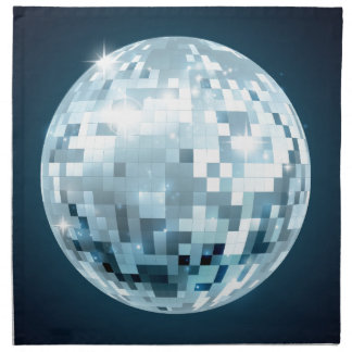 Mirror Ball Napkin
