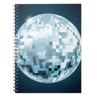 Mirror Ball Notebook