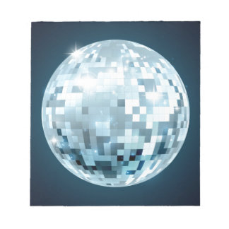 Mirror Ball Notepad