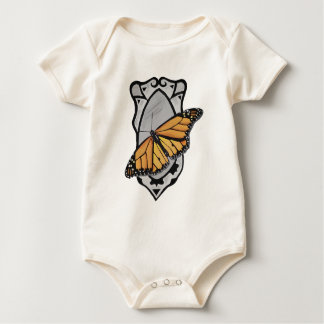 Mirror Butterfly Baby Bodysuit