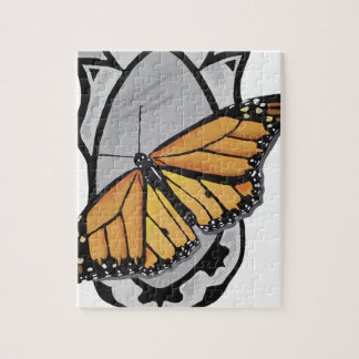Mirror Butterfly Jigsaw Puzzle