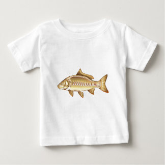 Mirror Carp Vector Art graphic design file Baby T-Shirt