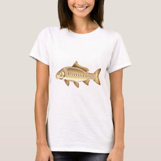 Mirror Carp Vector Art graphic design file T-Shirt