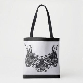 MIRROR GRASSHOPPERS TOTE BAG
