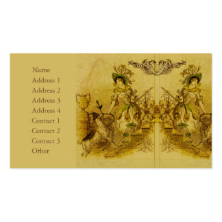 Mirror Image Business Card