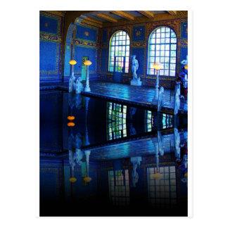 Mirror Image Hearst Castle Indoor Pool Postcard