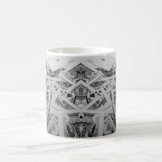 Mirror Image Playing Cards Basic White Mug