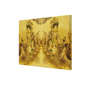 Mirror Image Stretched Canvas Prints