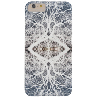 Mirror image tree pattern barely there iPhone 6 plus case
