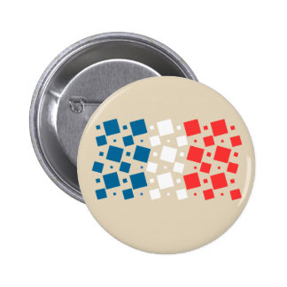 Mirror Inspired by France Flag 2 Inch Round Button