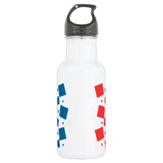Mirror Inspired by France Flag 532 Ml Water Bottle