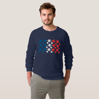 Mirror Inspired by France Flag Sweatshirt