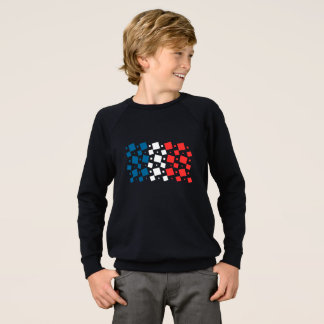 Mirror Inspired by France Flag Sweatshirt