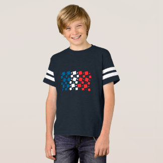 Mirror Inspired by France Flag T-Shirt