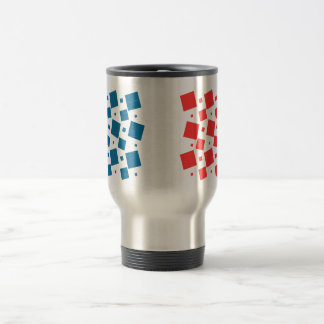 Mirror Inspired by France Flag Travel Mug