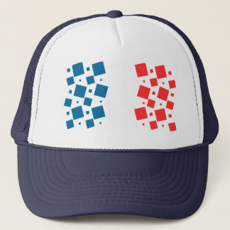 Mirror Inspired by France Flag Trucker Hat