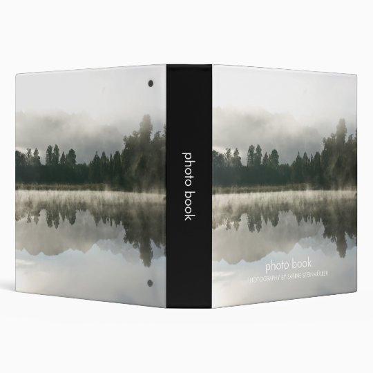 Mirror Lake, Early Morning Photo Book Binder