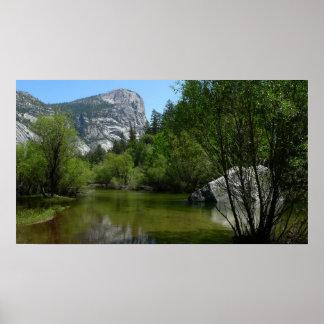 Mirror Lake I in Yosemite National Park Poster