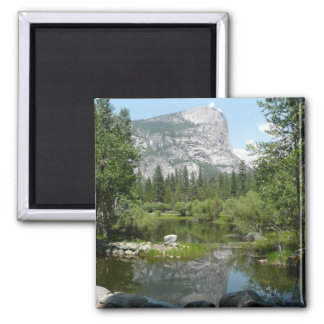 Mirror Lake View in Yosemite National Park Magnet
