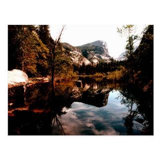Mirror Lake, Yosemite National Park Postcard