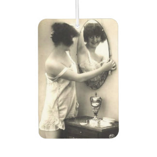 Mirror Mirror Vintage Erotica Pin-Up Girl Car Air Freshener