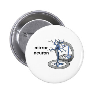 Mirror Neuron 2 Inch Round Button