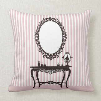 Mirror of redei throw pillow