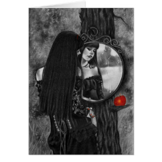 Mirror of Sorrow Red Apple Fantasy Girl Card