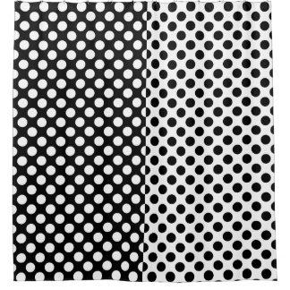 Mirror Opposites Black and White Polka Dot