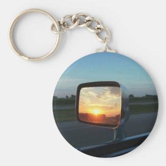Mirror Sunrise Keychain