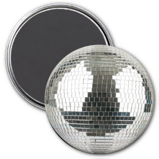 Mirrorball Disco Ball 3 Inch Round Magnet