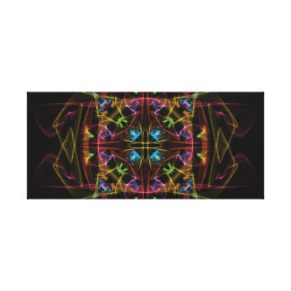 Mirrored Blast Gallery Wrapped Canvas