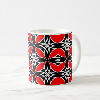 Mirrored Celtic ( Flutterby Red ) Coffee Mug