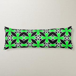 Mirrored Celtic ( Green Invert ) Body Pillow