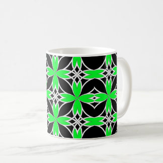 Mirrored Celtic ( Green Invert ) Coffee Mug