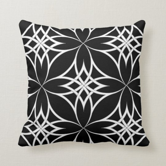 Mirrored Celtic Throw Pillow