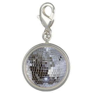 Mirrored Disco Ball 1 Charm