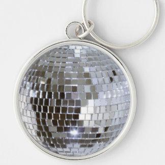 Mirrored Disco Ball 1 Keychain
