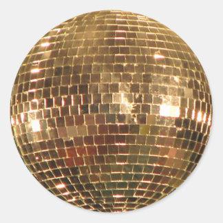Mirrored Disco Ball 2 Classic Round Sticker