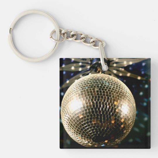 Mirrored Disco Ball 3 Keychain