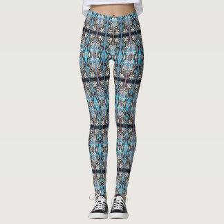 Mirrored Floral Leggings