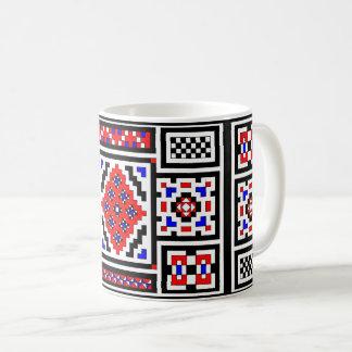 Mirrored Mosaic Coffee Mug