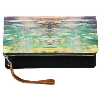 Mirrored Reflection fold-over clutch