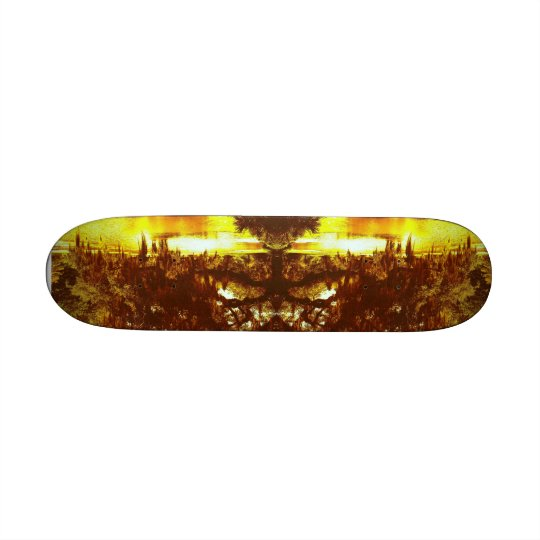 Mirrored Tree Skate Boards