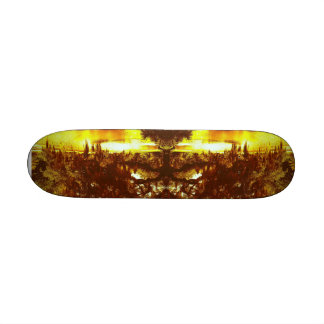 Mirrored Tree Skate Boards