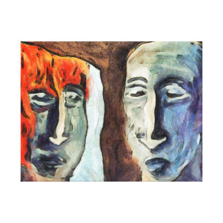 Mirroring - Retrospect Canvas Prints