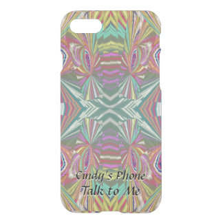 Mirrors - Exciting Abstract with Your Text iPhone 8/7 Case