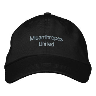 Misanthropes United Embroidered Hat