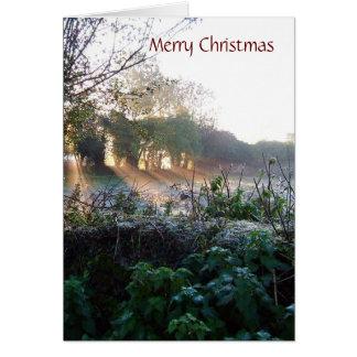 MISC 003 xmas card, Merry Christmas - Customized Card